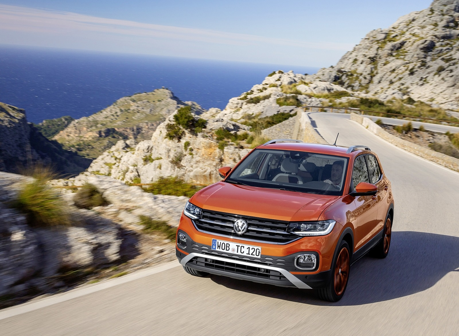 2019 Volkswagen T-Cross Front Wallpapers (6)