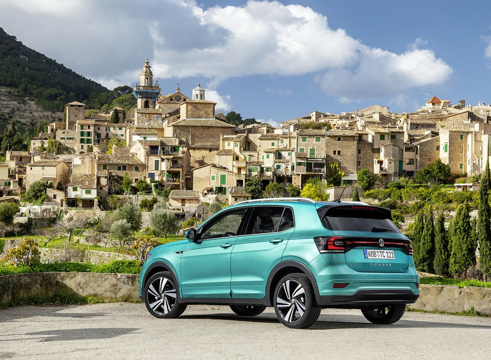 2019 Volkswagen T-Cross Rear Three-Quarter Wallpapers #37 of 74