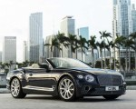 2020 Bentley Continental GT V8 Convertible Front Three-Quarter Wallpapers 150x120 (7)