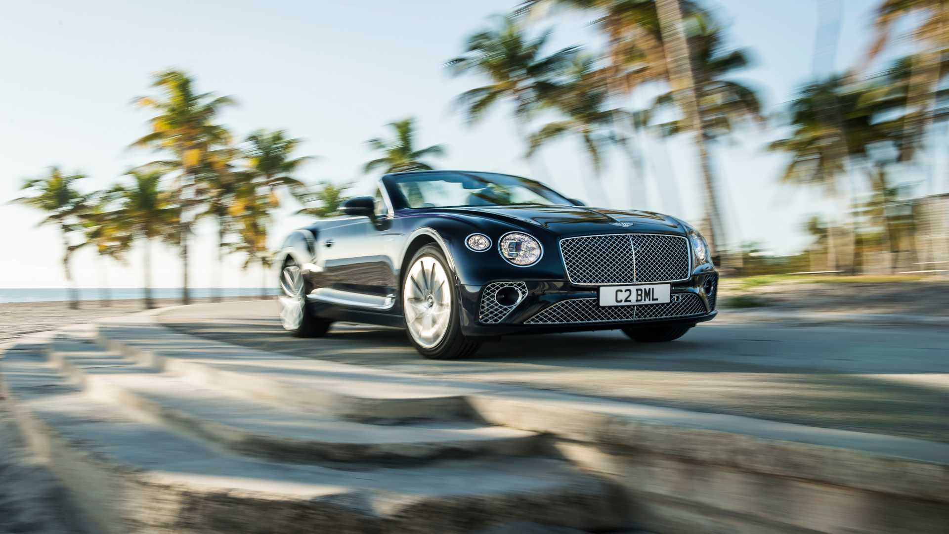 2020 Bentley Continental GT V8 Convertible Front Three-Quarter Wallpapers (2)