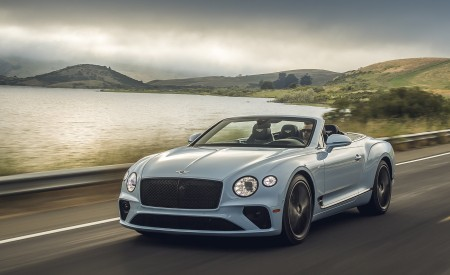 2020 Bentley Continental GT V8 Convertible Wallpapers HD