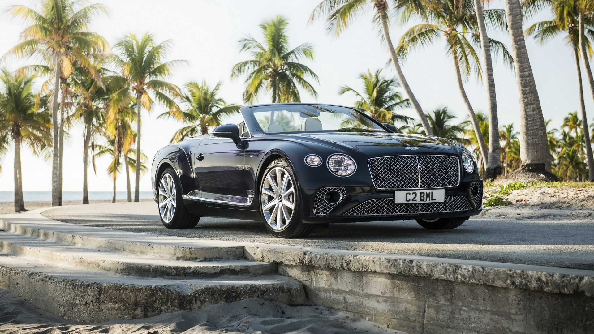 2020 Bentley Continental GT V8 Convertible Front Three-Quarter Wallpapers (8)