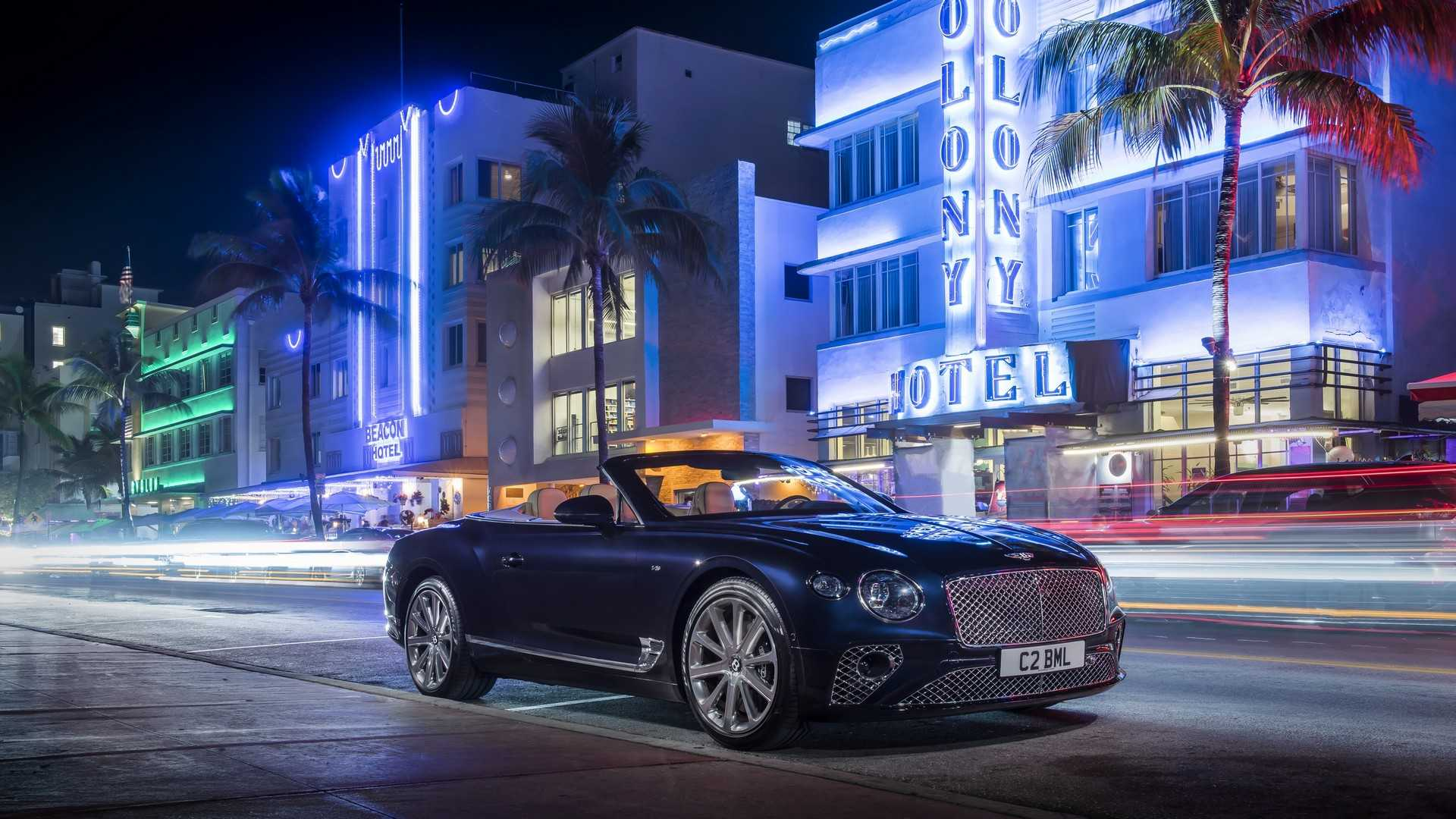 2020 Bentley Continental GT V8 Convertible Front Three-Quarter Wallpapers (9)