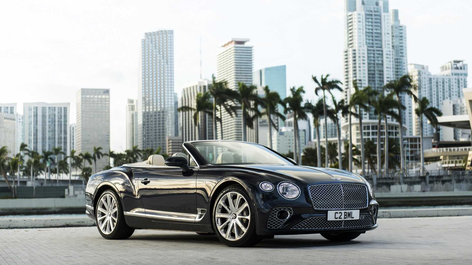 2020 Bentley Continental GT V8 Convertible Front Three-Quarter Wallpapers (7)