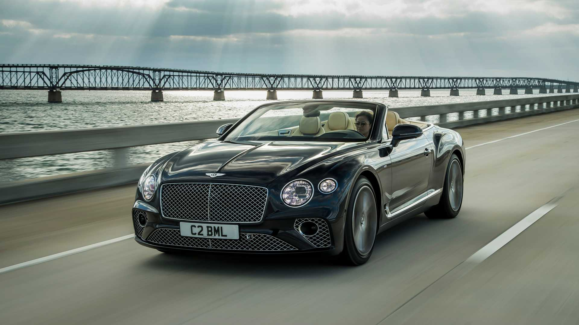 2020 Bentley Continental GT V8 Convertible Front Three-Quarter Wallpapers (1)