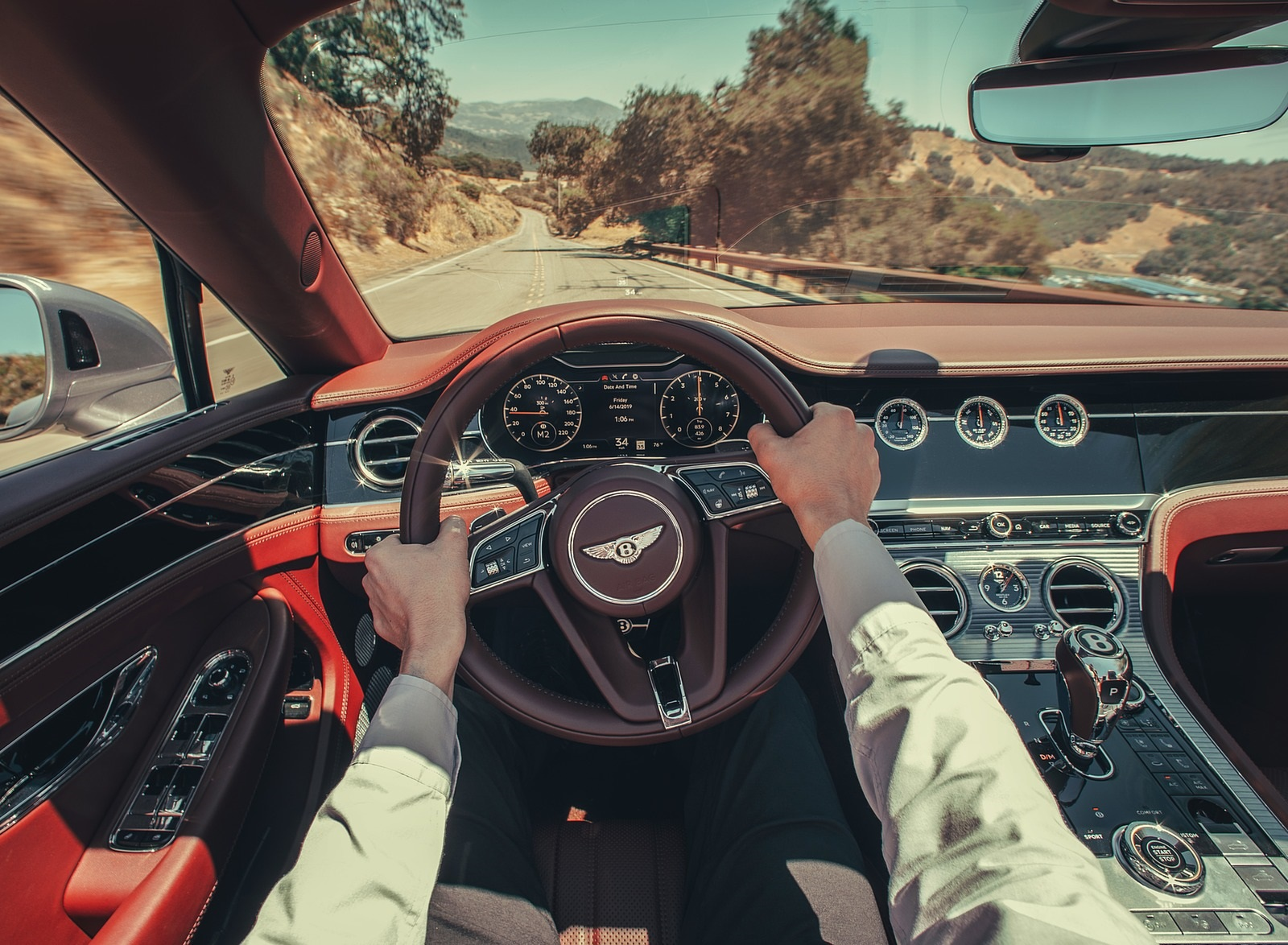 2020 Bentley Continental Gt V8 Convertible Interior Cockpit Wallpapers 75 Newcarcars