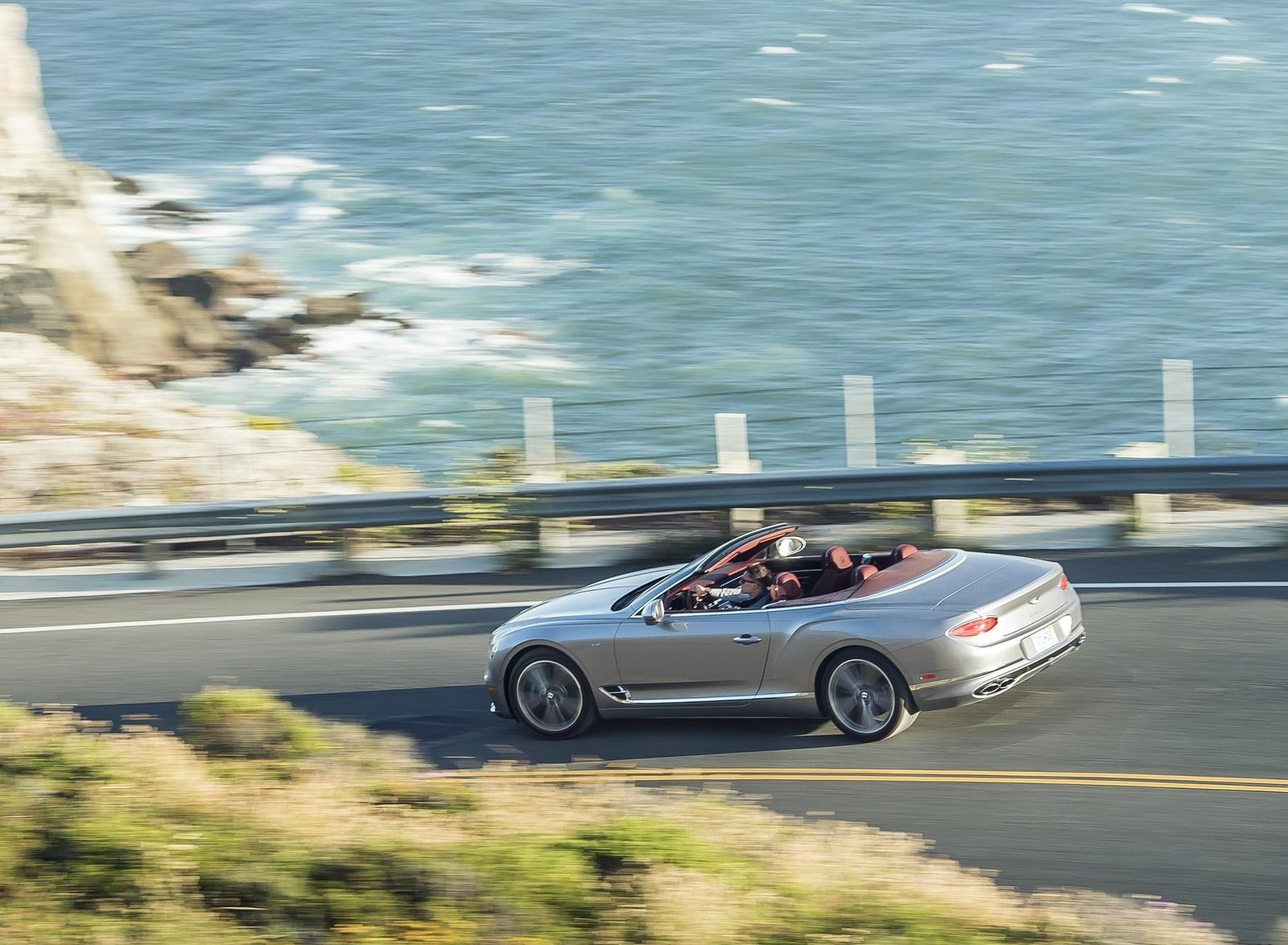 2020 Bentley Continental GT V8 Convertible Rear Three-Quarter Wallpapers (10)