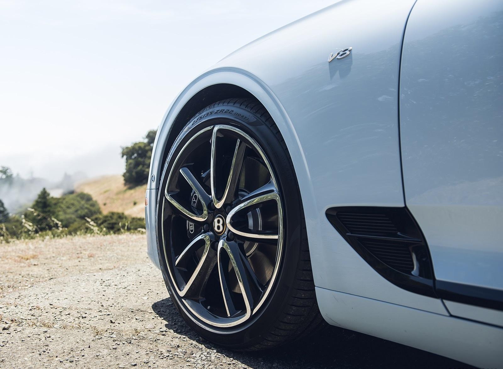 2020 Bentley Continental GT V8 Convertible Wheel Wallpapers (12)