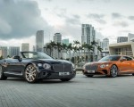 2020 Bentley Continental GT V8 Convertible and 2020 Bentley Continental GT V8 Coupe Front Three-Quarter Wallpapers 150x120 (6)