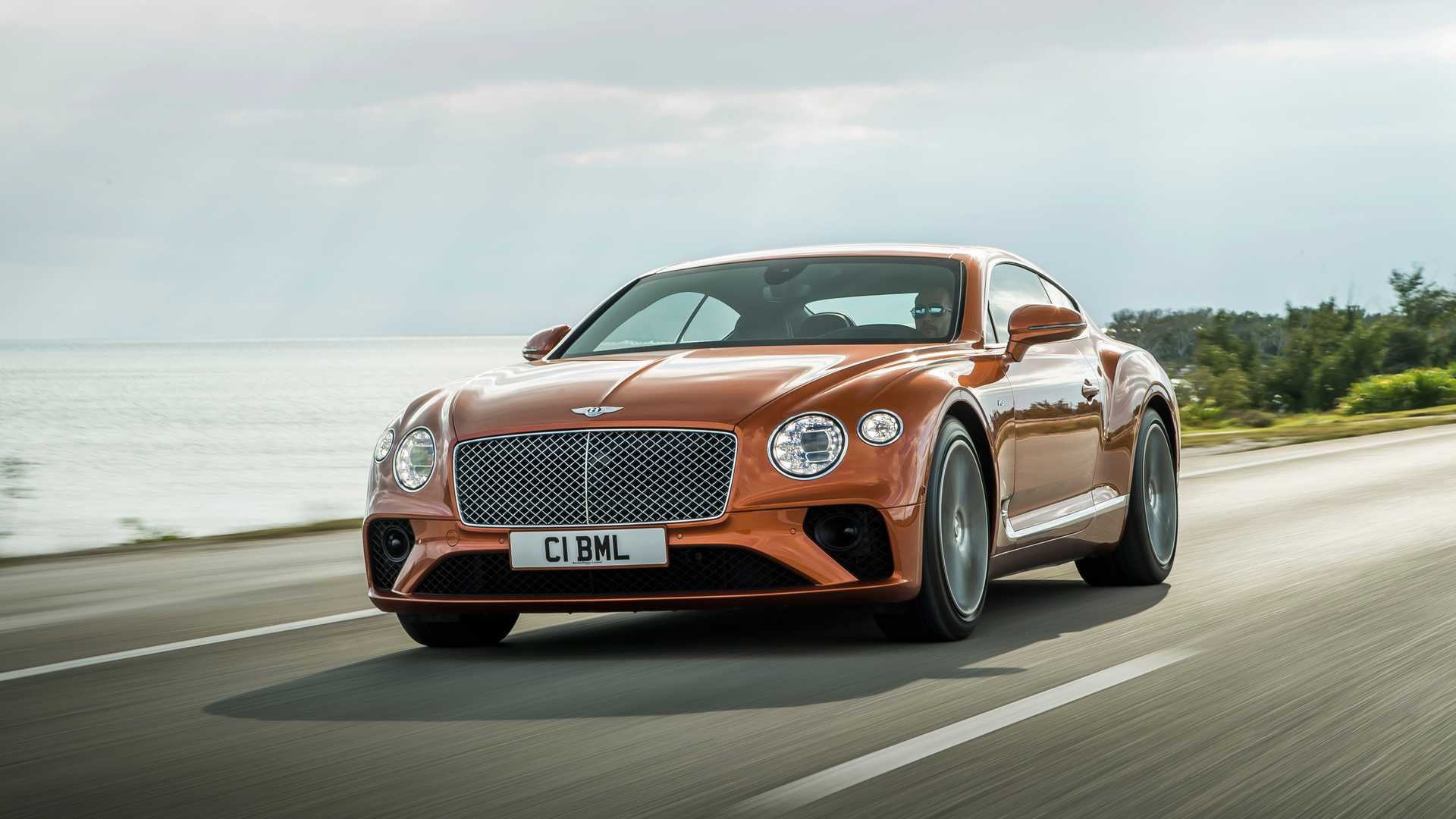 2020 Bentley Continental GT V8 Coupe Front Three-Quarter Wallpapers (1)