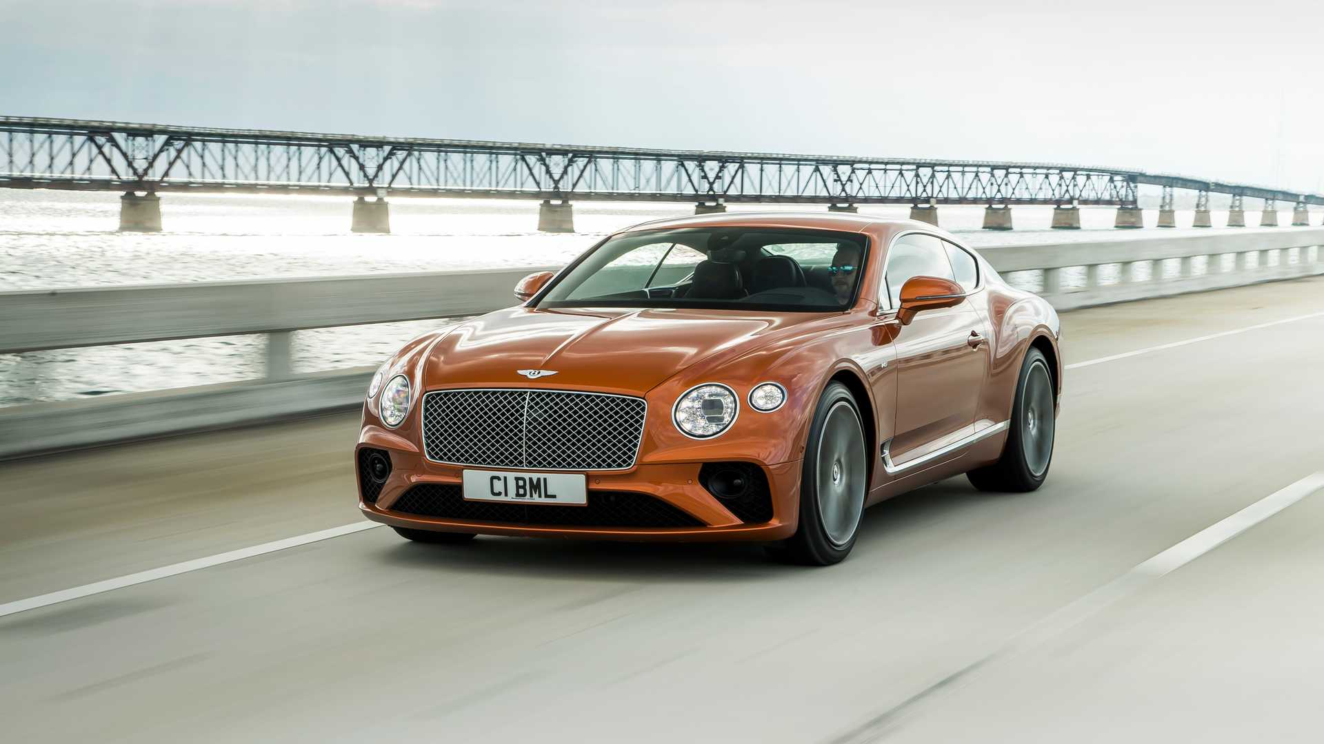 2020 Bentley Continental GT V8 Coupe Front Three-Quarter Wallpapers (3)