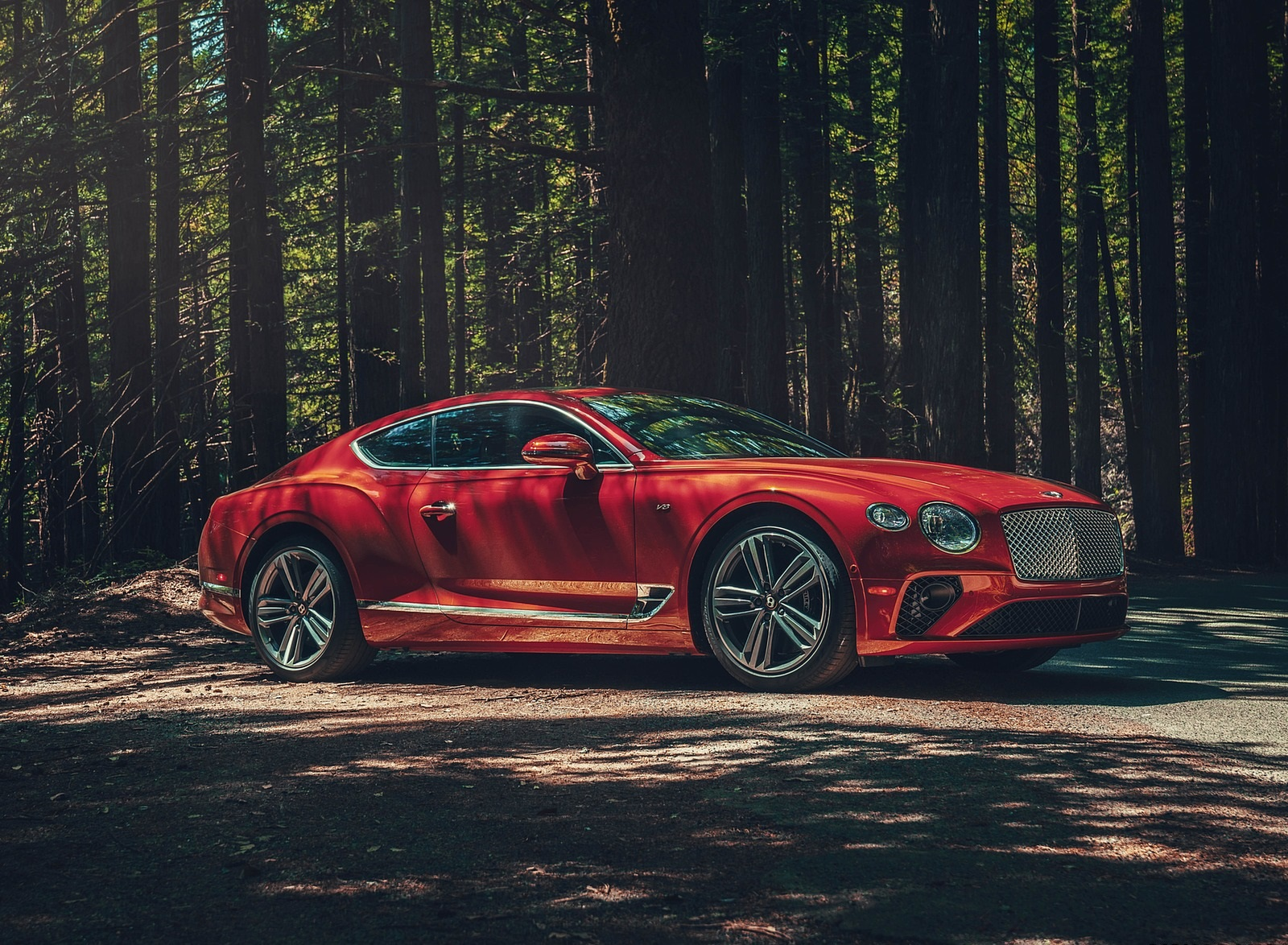 2020 Bentley Continental GT V8 Coupe Front Three-Quarter Wallpapers (9)