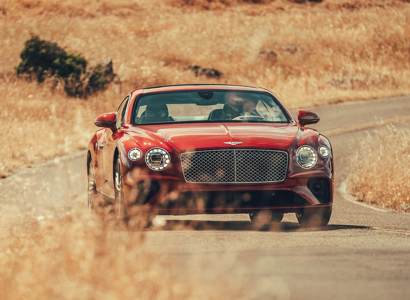 2020 Bentley Continental GT V8 Coupe Front Wallpapers (10)