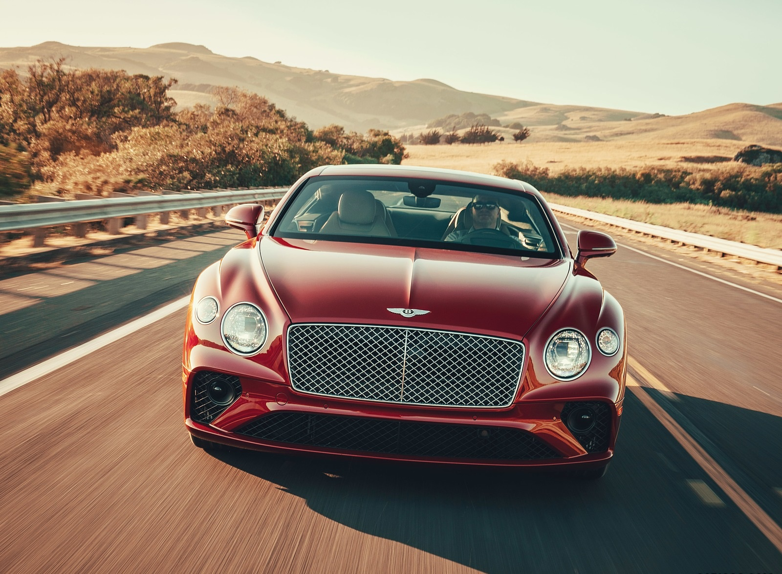 2020 Bentley Continental GT V8 Coupe Front Wallpapers (3)