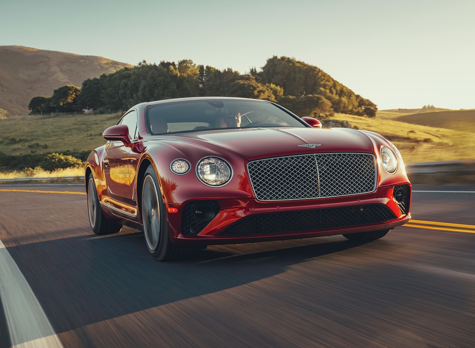 2020 Bentley Continental GT V8 Coupe Front Wallpapers (1)