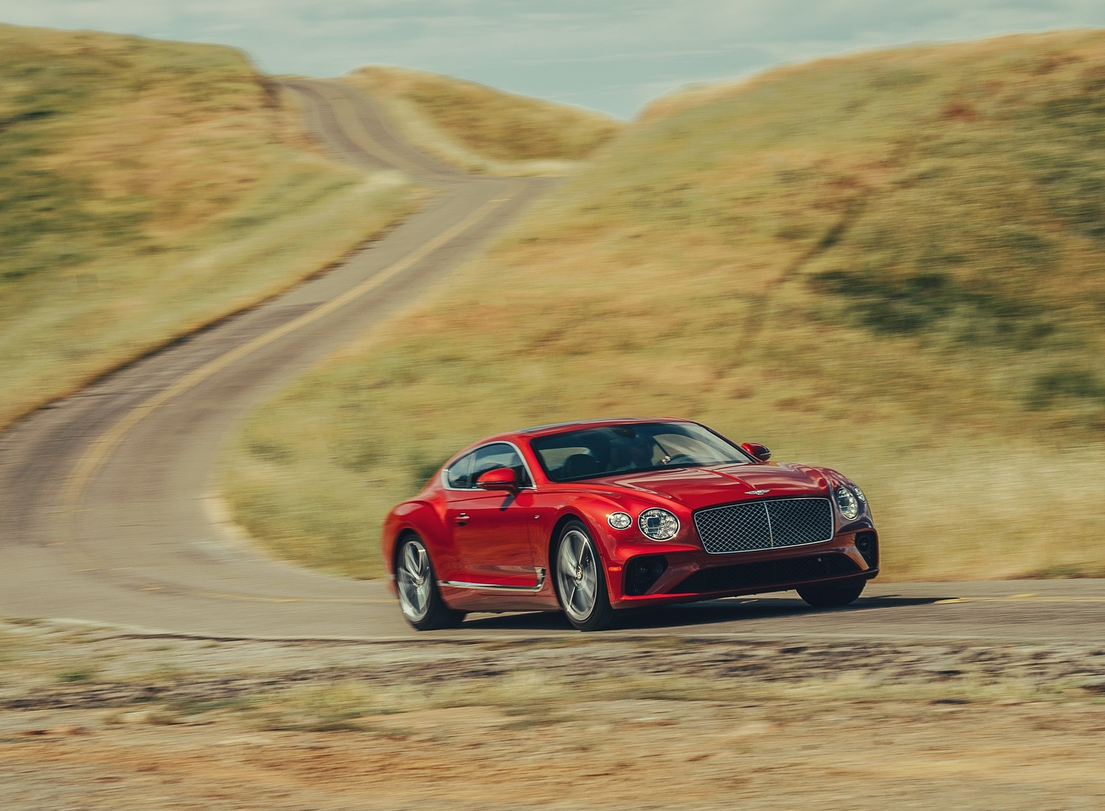 2020 Bentley Continental GT V8 Coupe Front Wallpapers (12)