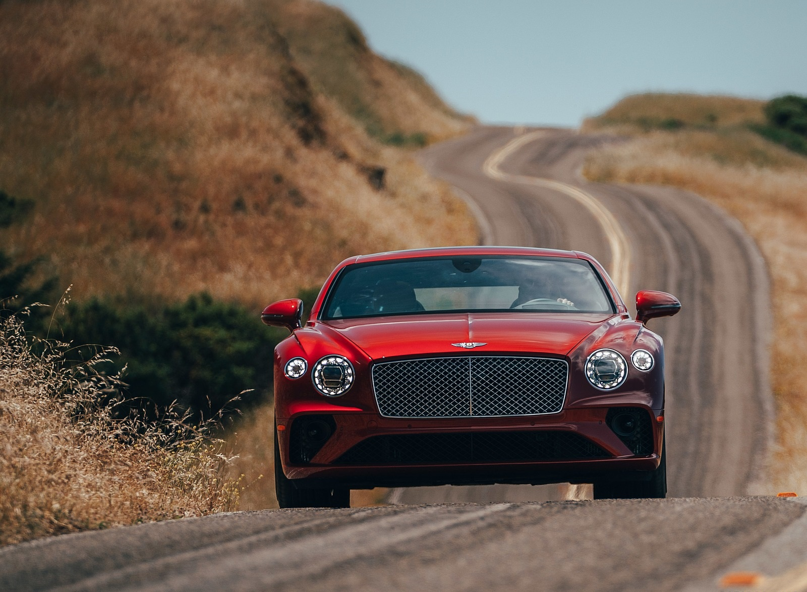 2020 Bentley Continental GT V8 Coupe Front Wallpapers (4)