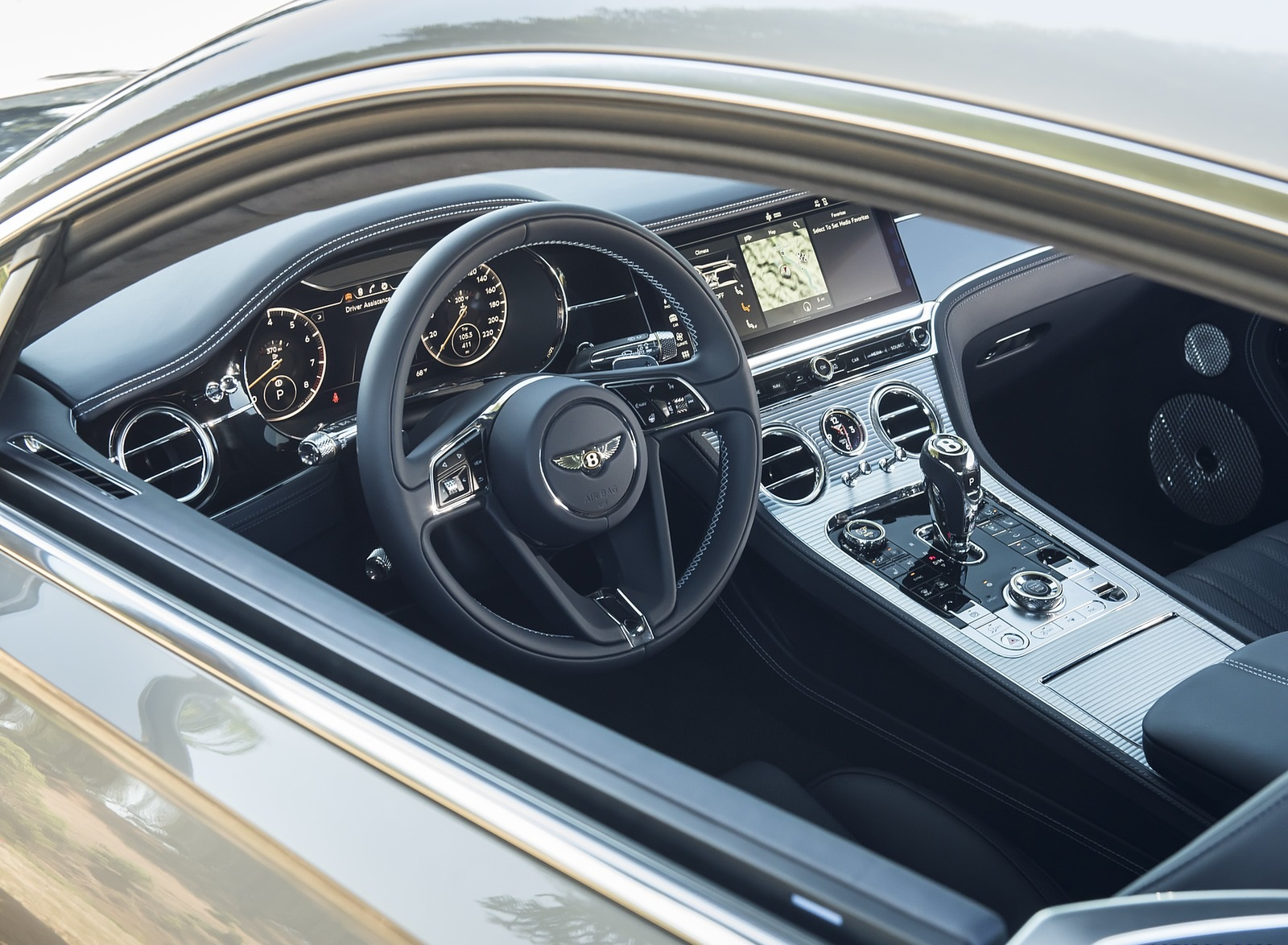 2020 Bentley Continental Gt V8 Coupe Interior Wallpapers 93 Newcarcars