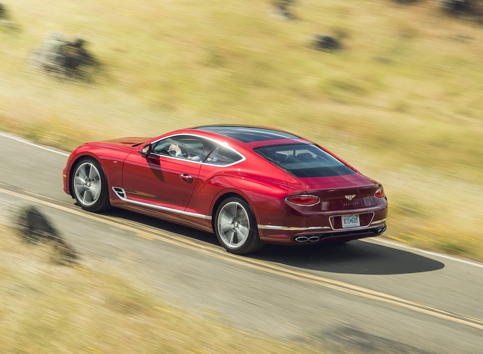 2020 Bentley Continental GT V8 Coupe Rear Three-Quarter Wallpapers (13)