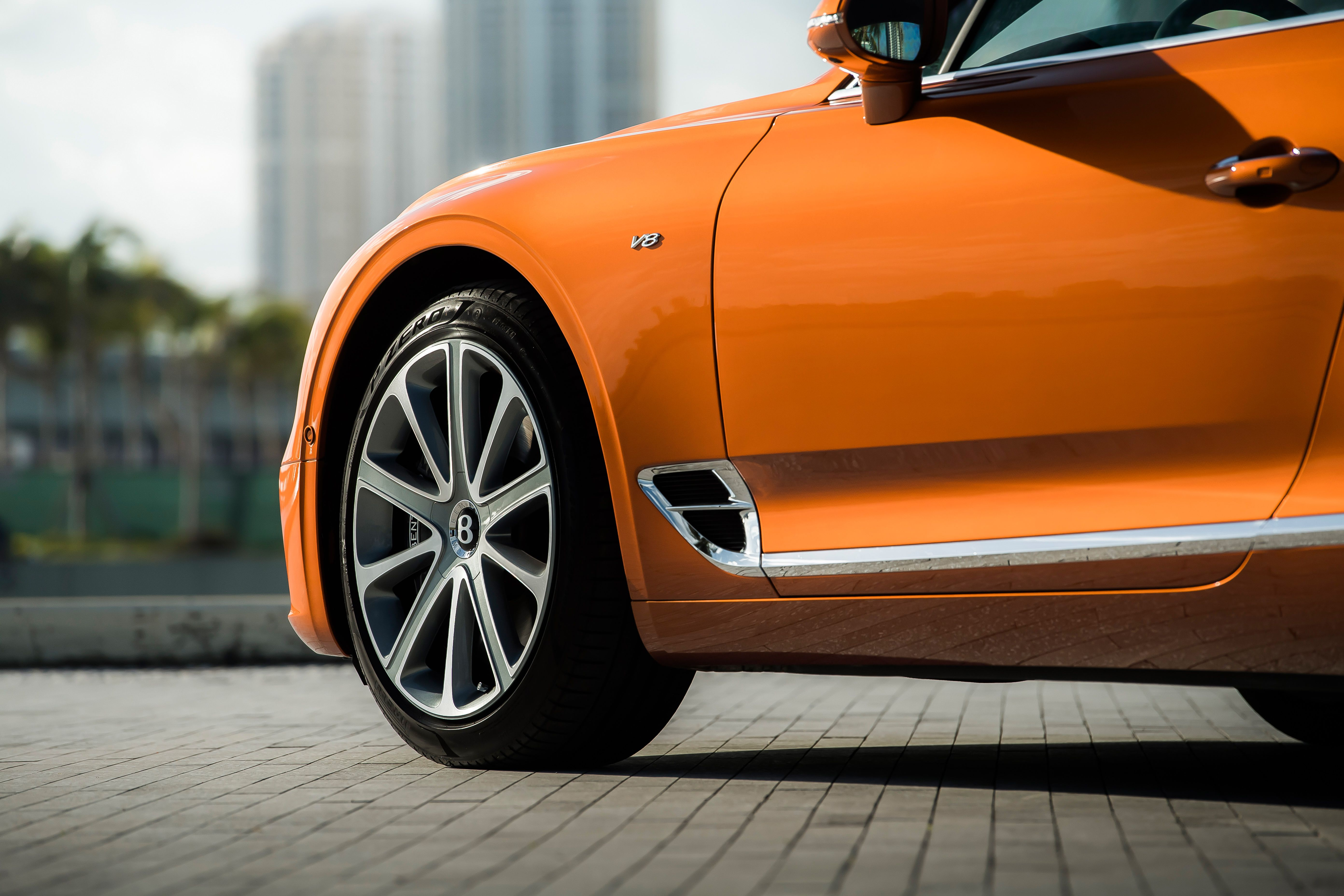 2020 Bentley Continental GT V8 Coupe Wheel Wallpapers (10)