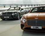 2020 Bentley Continental GT V8 Coupe and 2020 Bentley Continental GT V8 Convertible Front Three-Quarter Wallpapers 150x120 (6)