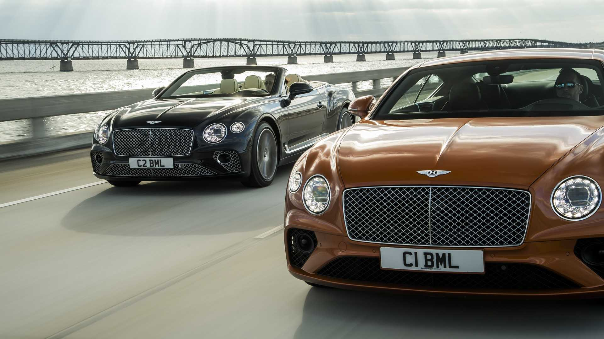 2020 Bentley Continental GT V8 Coupe and 2020 Bentley Continental GT V8 Convertible Front Three-Quarter Wallpapers (6)