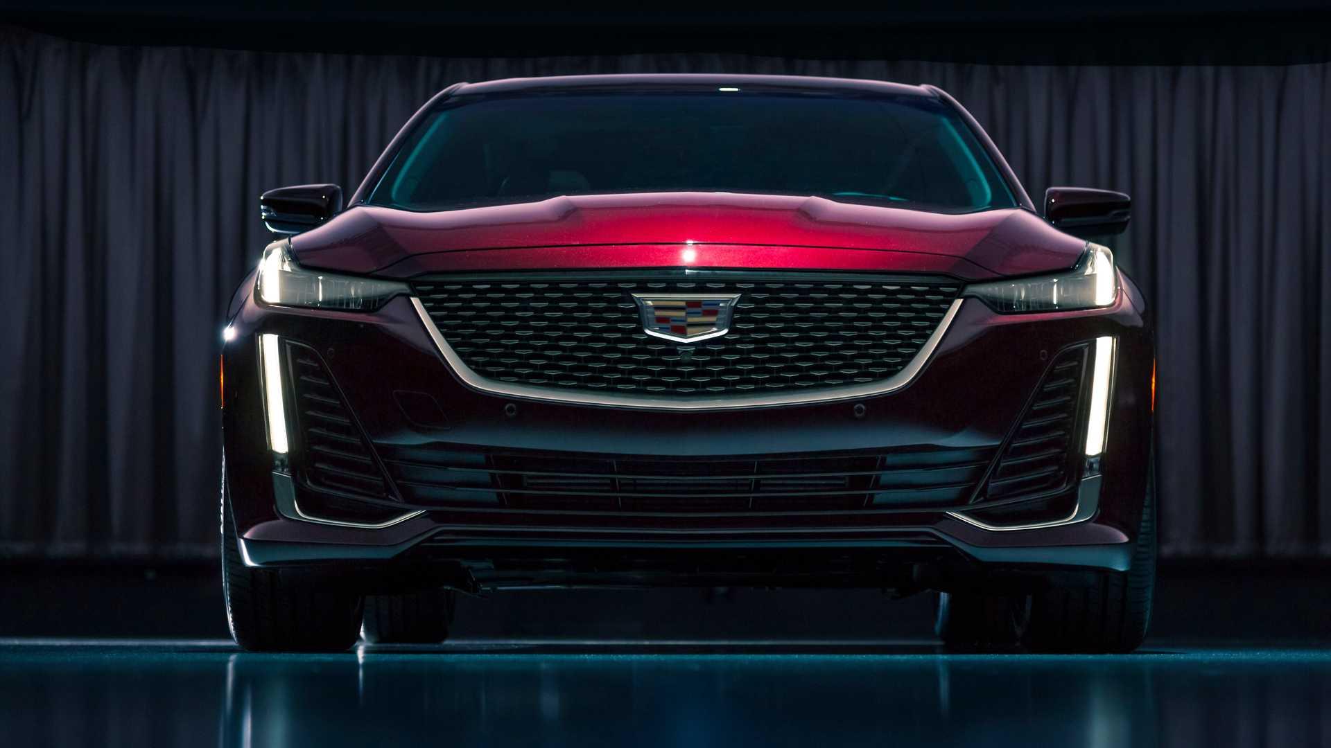 2020 Cadillac CT5 Premium Luxury Front Wallpaper (9)