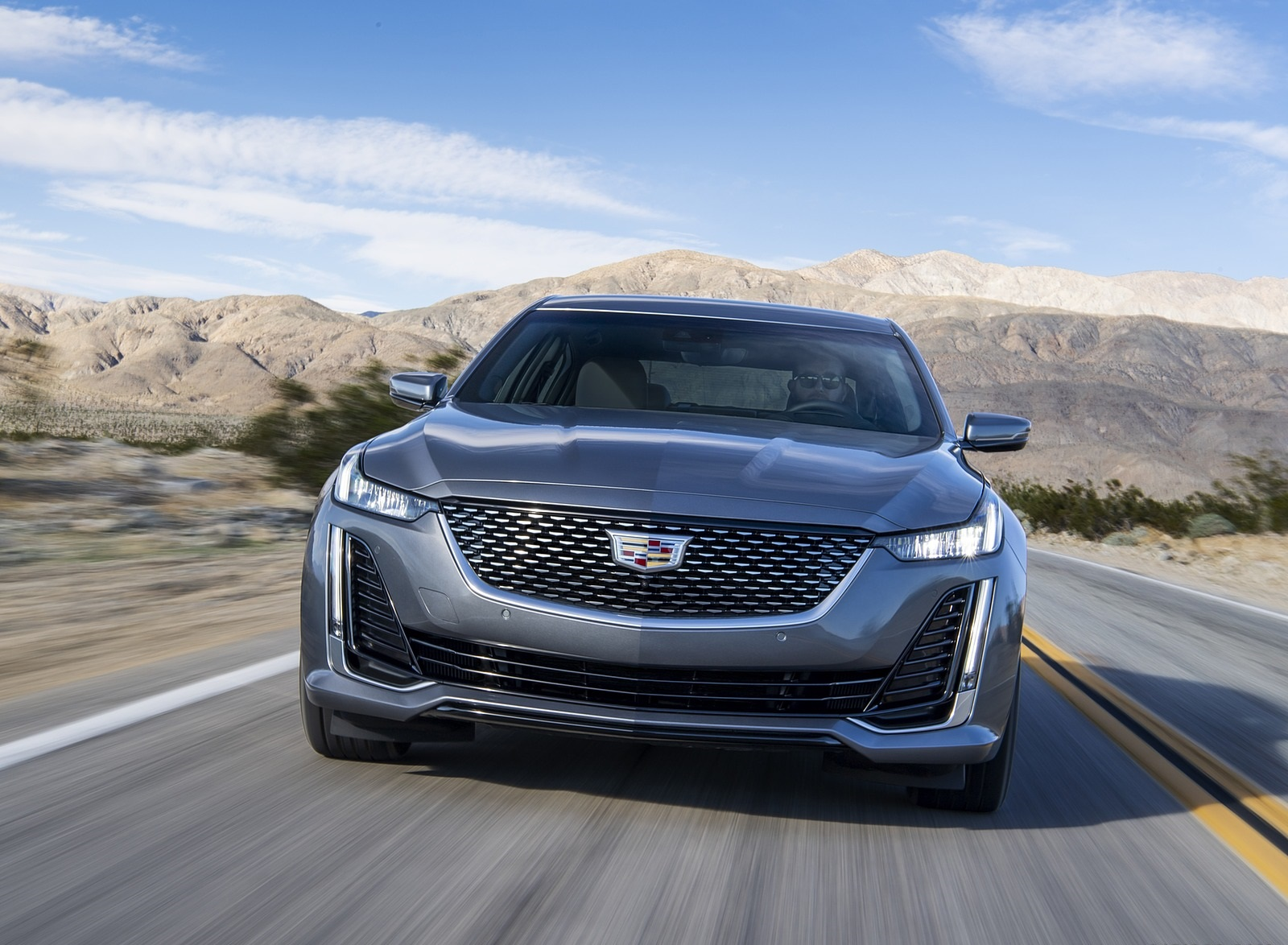 2020 Cadillac CT5 Premium Luxury Front Wallpapers (1)