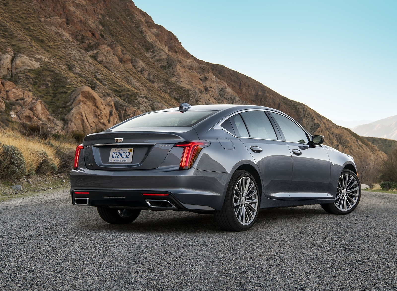 2020 Cadillac CT5 Premium Luxury Rear Three-Quarter Wallpapers (7)