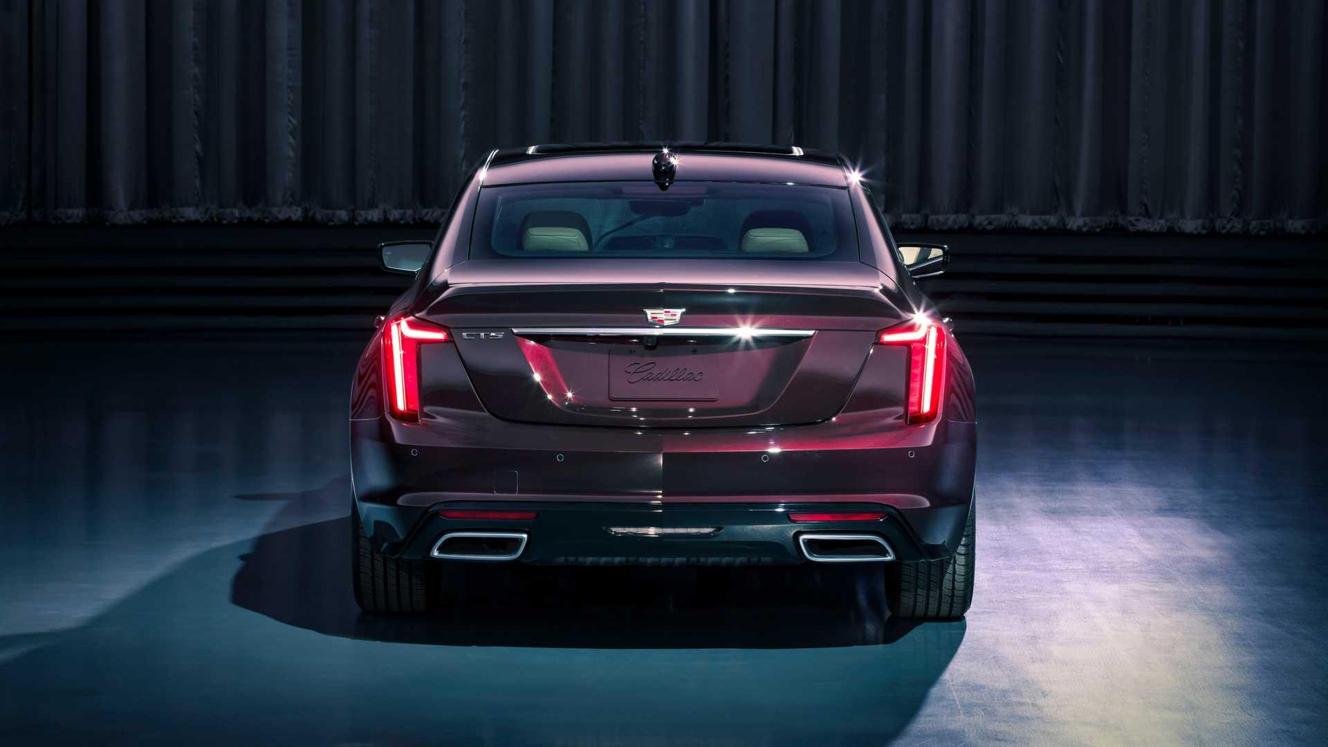 2020 Cadillac CT5 Premium Luxury Rear Wallpaper (10)