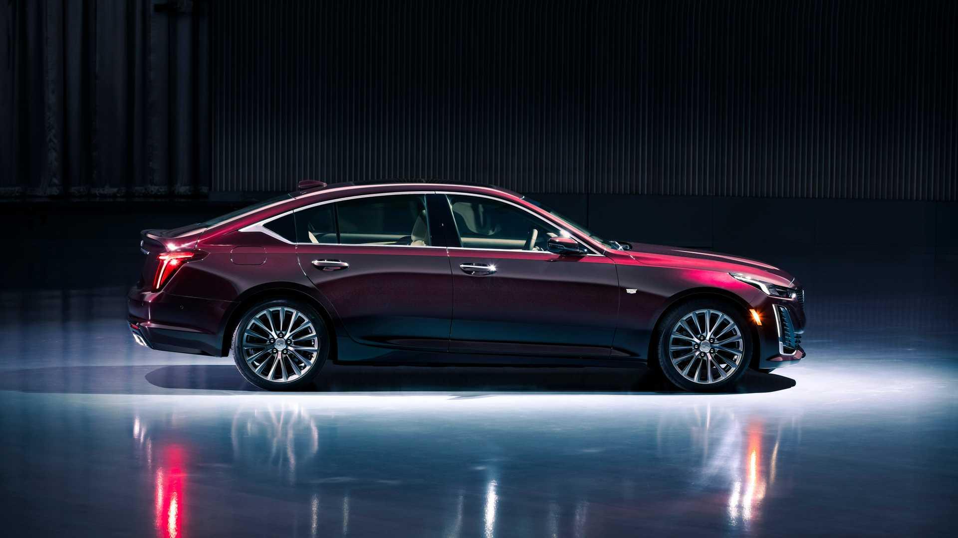 2020 Cadillac CT5 Premium Luxury Side Wallpaper (11)