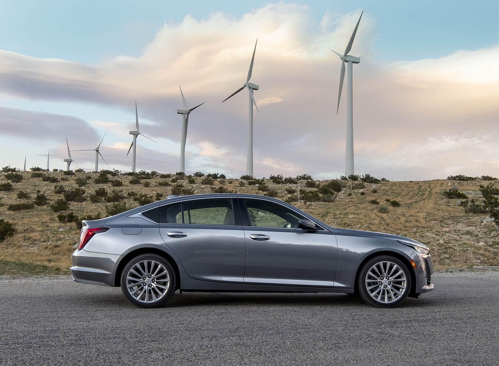 2020 Cadillac CT5 Premium Luxury Side Wallpapers (9)