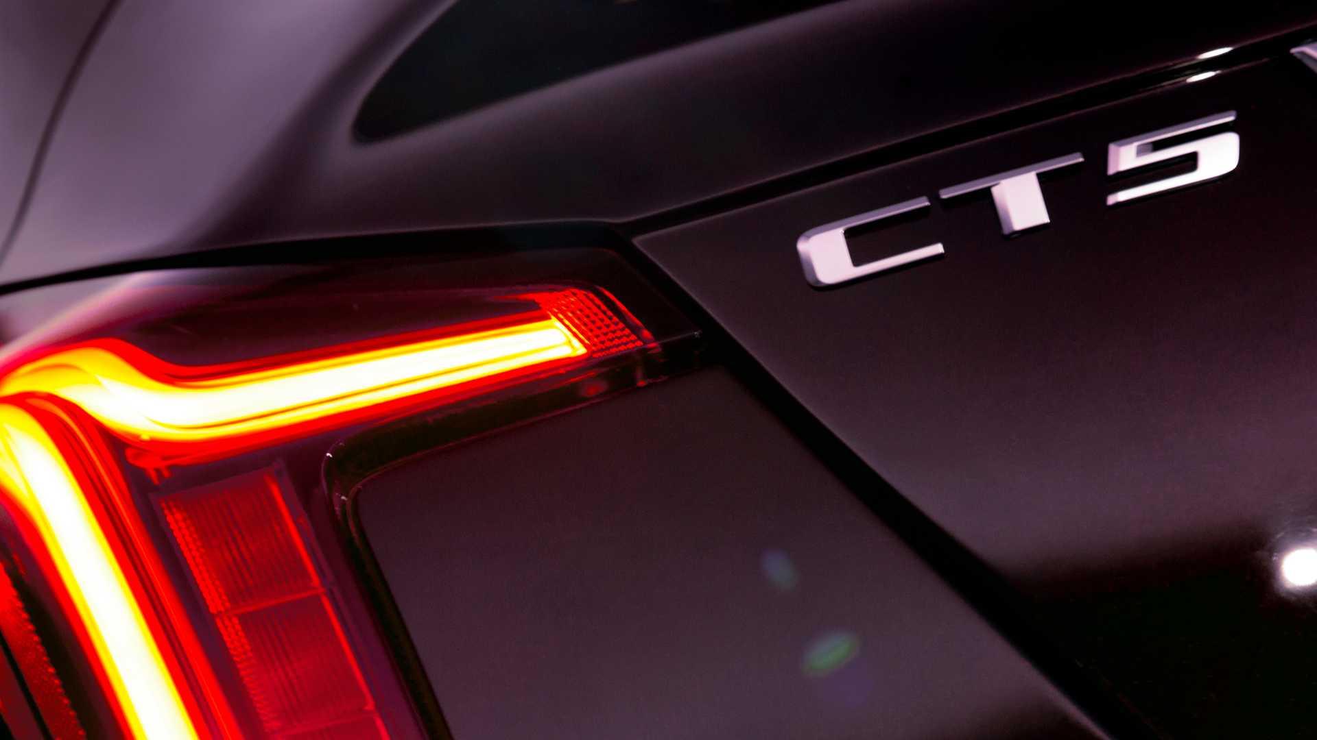 2020 Cadillac CT5 Premium Luxury Tail Light Wallpaper (12)