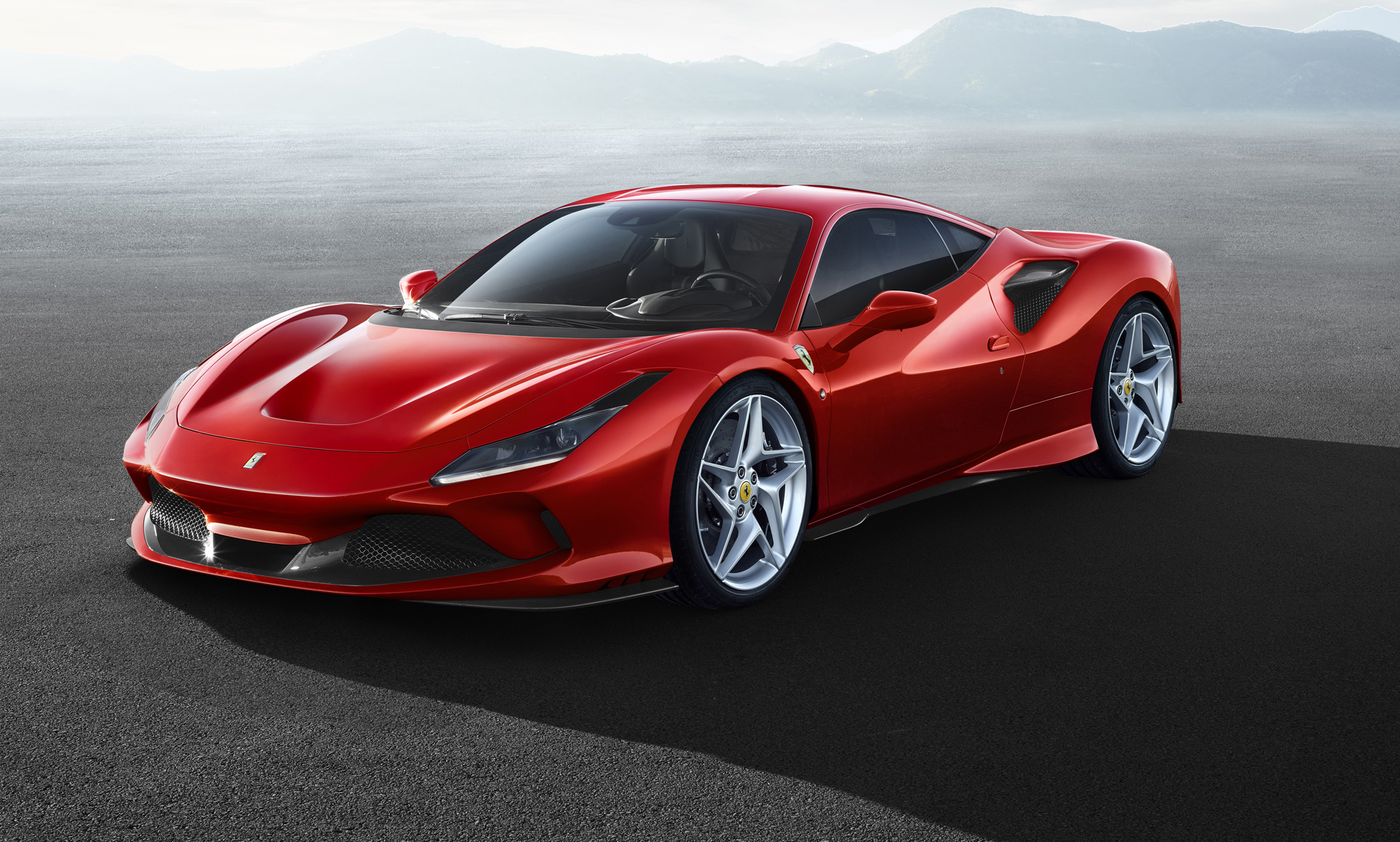 2020 Ferrari F8 Tributo Front Three-Quarter Wallpaper (1)