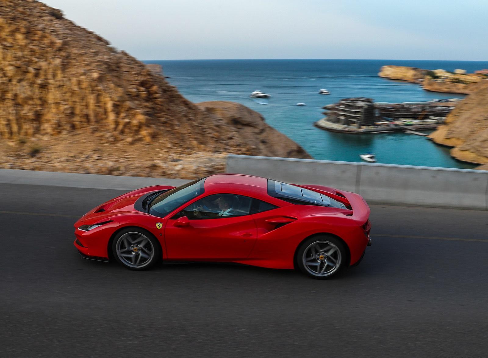 2020 Ferrari F8 Tributo Side Wallpapers 7 Newcarcars