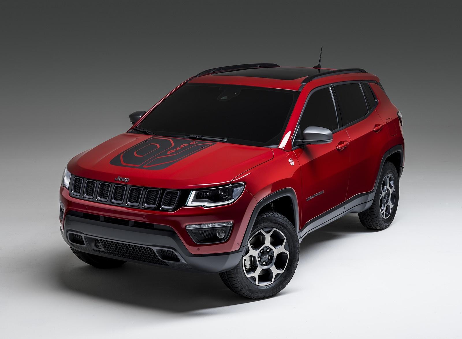 2020 Jeep Compass PHEV Front Three-Quarter Wallpaper (1)