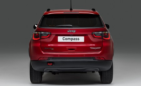 2020 Jeep Compass PHEV Rear Wallpaper 450x275 (2)