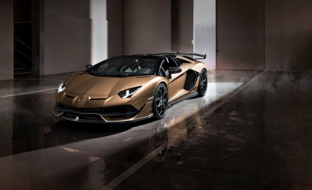 2020 Lamborghini Aventador SVJ Roadster Front Three-Quarter Wallpaper 450x275 (5)