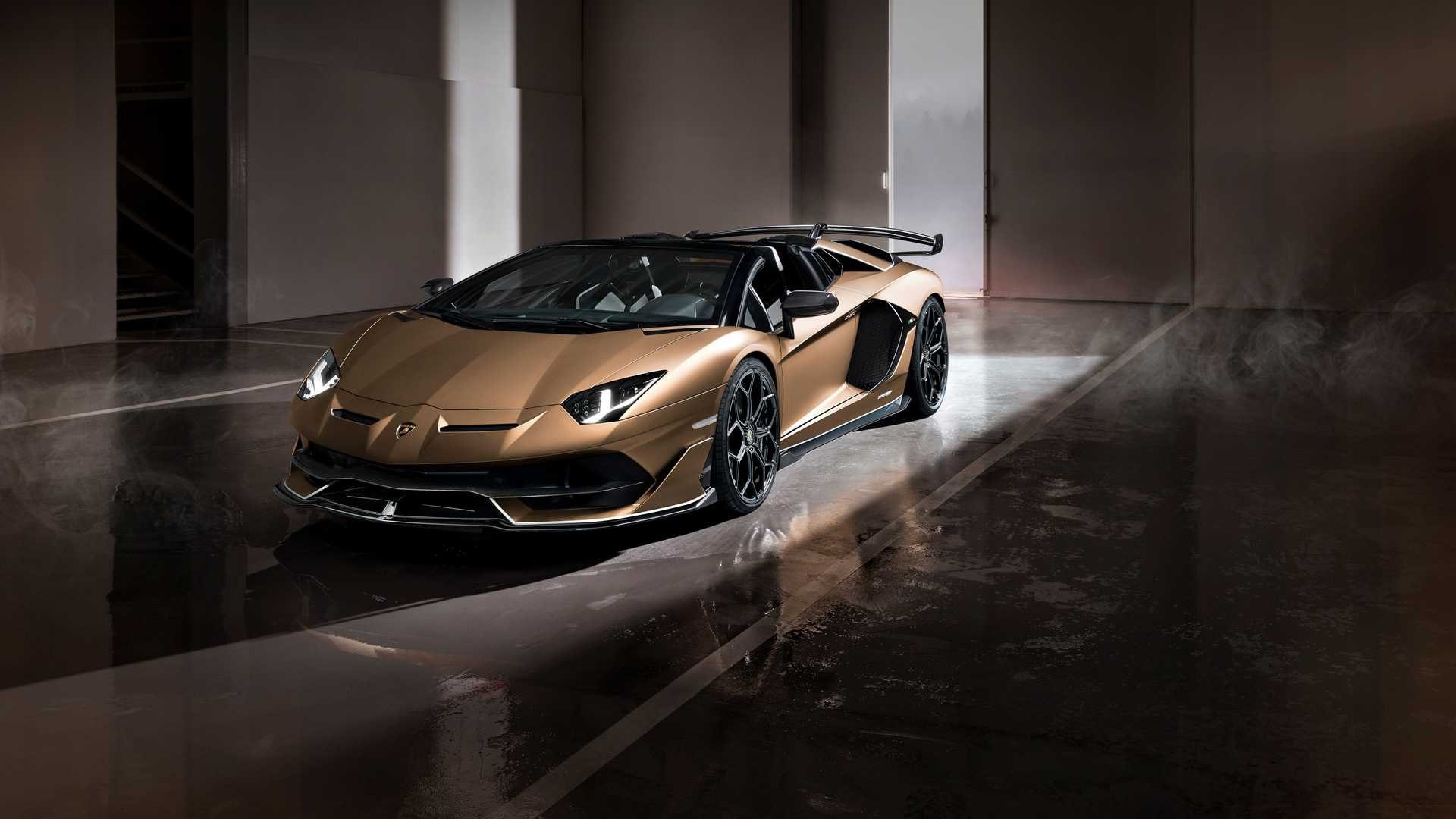 2020 Lamborghini Aventador SVJ Roadster Front Three-Quarter Wallpapers (5)