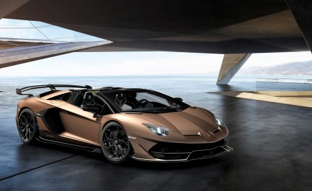 2020 Lamborghini Aventador SVJ Roadster Front Three-Quarter Wallpaper 450x275 (6)