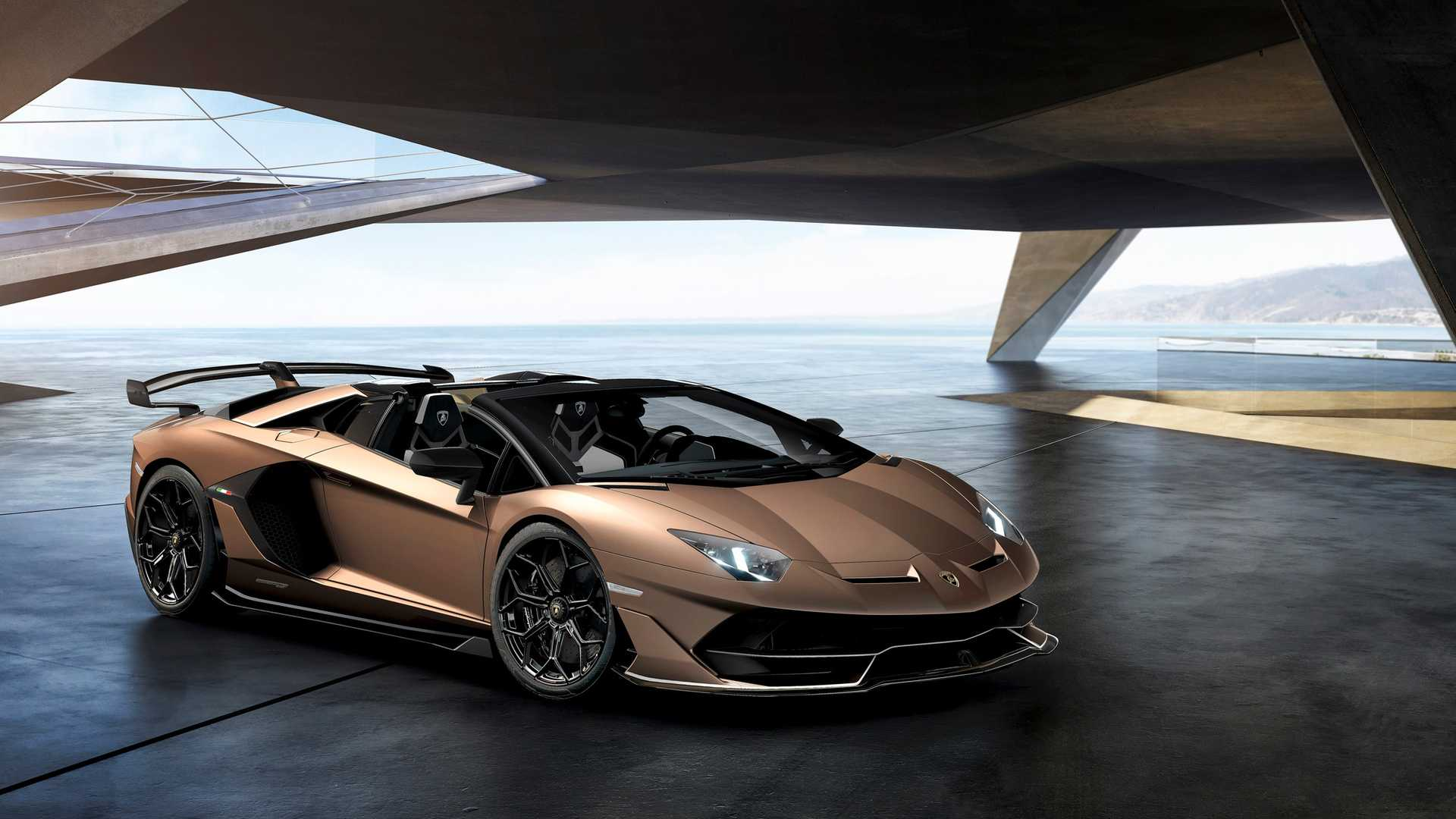 2020 Lamborghini Aventador SVJ Roadster Front Three-Quarter Wallpapers (6)