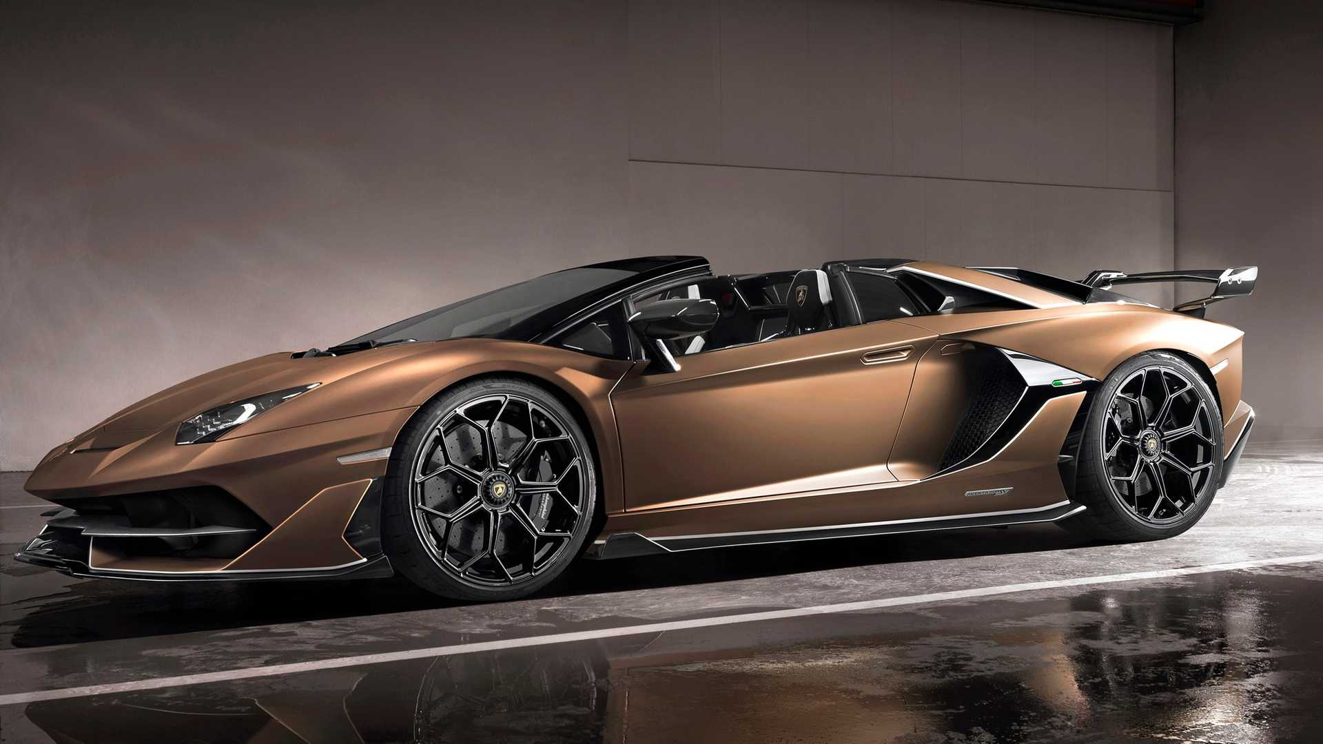 2020 Lamborghini Aventador SVJ Roadster Front Three-Quarter Wallpapers (8)