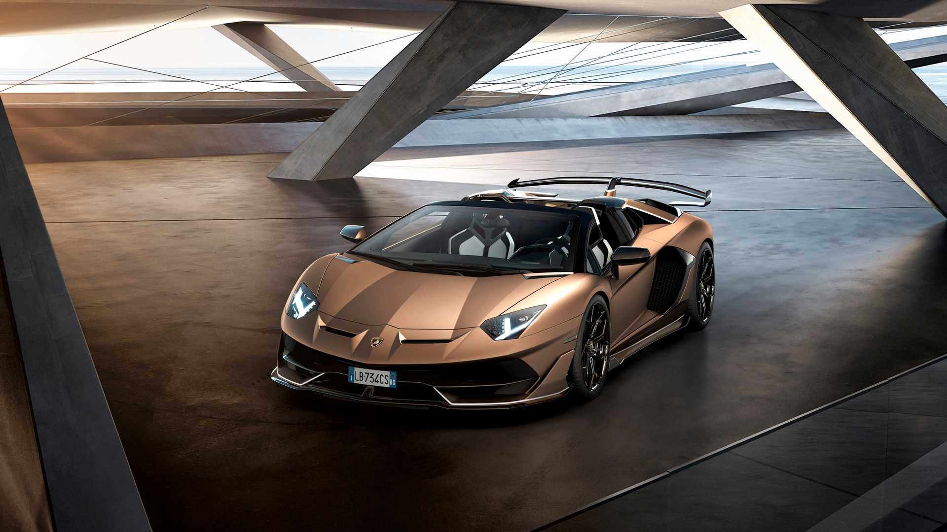 2020 Lamborghini Aventador SVJ Roadster Front Three-Quarter Wallpapers (10)