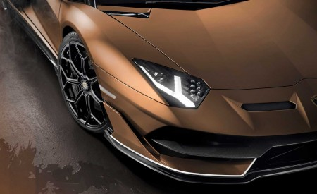 2020 Lamborghini Aventador SVJ Roadster Headlight Wallpaper 450x275 (23)