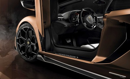 2020 Lamborghini Aventador SVJ Roadster Interior Seats Wallpaper 450x275 (18)