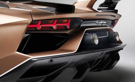 2020 Lamborghini Aventador SVJ Roadster Rear Bumper Wallpaper 450x275 (35)