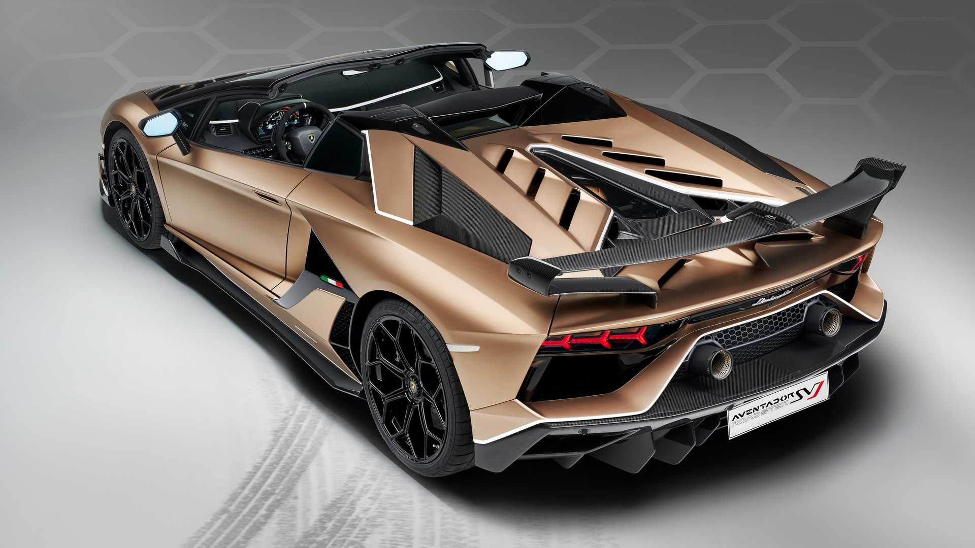 2020 Lamborghini Aventador Svj Roadster Rear Three Quarter Wallpaper