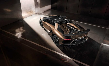 2020 Lamborghini Aventador SVJ Roadster Rear Wallpaper 450x275 (4)