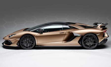 2020 Lamborghini Aventador SVJ Roadster Side Wallpaper 450x275 (26)