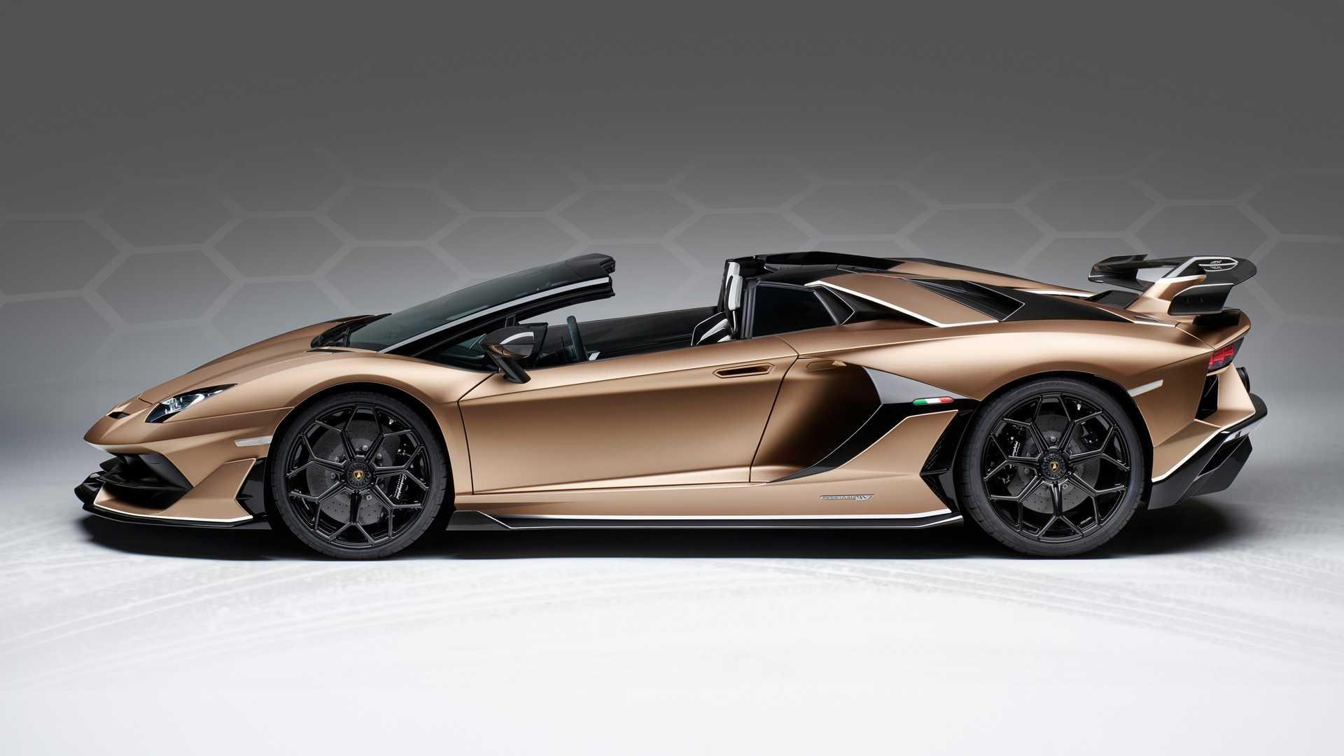 2020 Lamborghini Aventador Svj Roadster Side Wallpaper 27 Hd